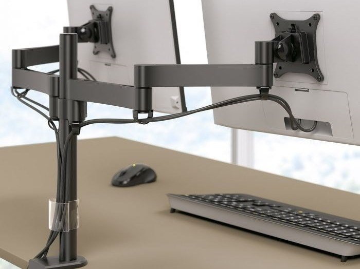 Adjustable stand for desk MOOVE by Manade