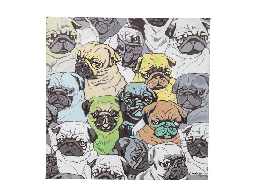Canvas print MOPS MEETING by KARE-DESIGN