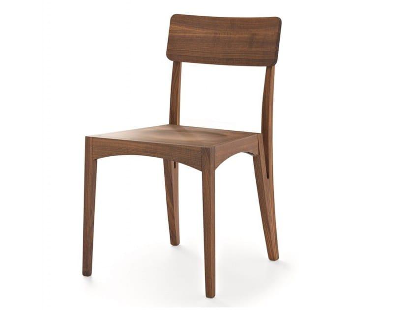 Solid wood chair MORAAR | Chair by Passoni
