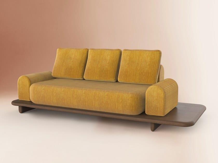 Sofá de veludo MORETO by DOVAIN STUDIO