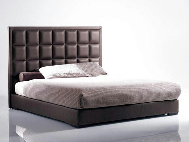 Bed with upholstered headboard MORFEO | Bed with upholstered headboard by Marac