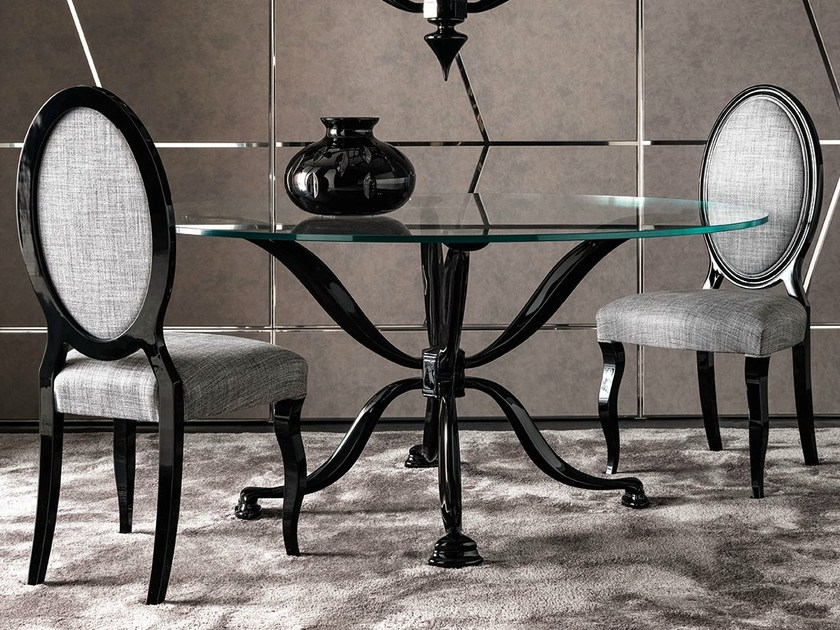 Tempered glass table MORGAN | Table by CorteZari