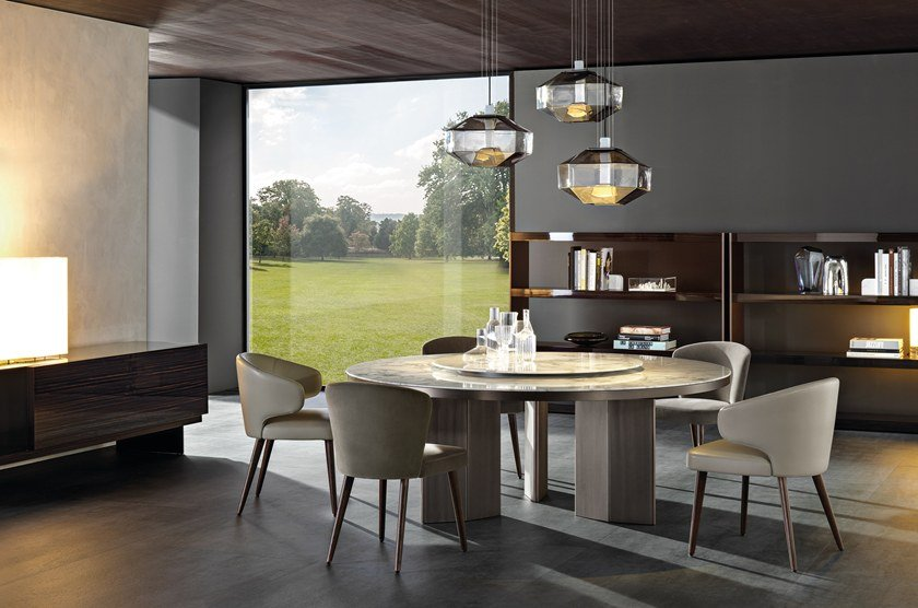 Table Morgan Marble By Minotti