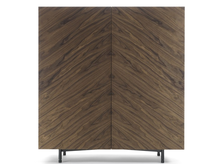 Multi-layer wood highboard with doors MORI by Riva 1920