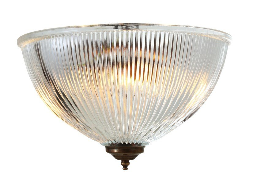Direct light handmade ceiling light MORONI REVERSE DOME by Mullan Lighting