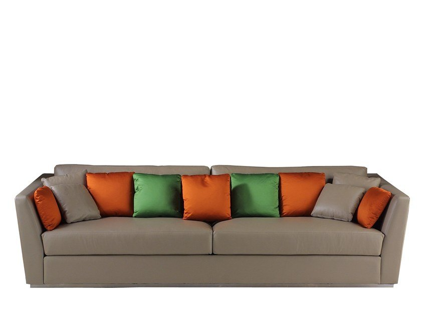 Leather sofa MORPHEE by Laval
