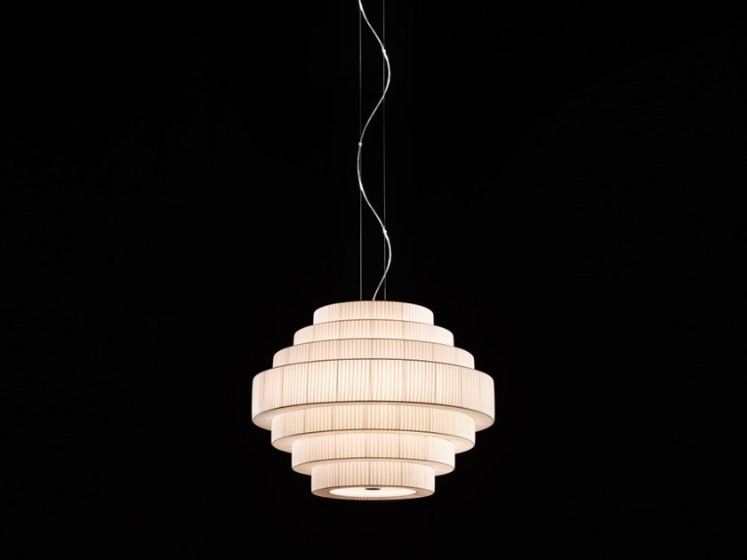 Opal glass pendant lamp MOS 01 by BOVER
