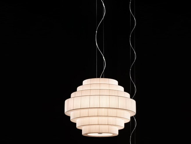 Opal glass pendant lamp MOS 03 by BOVER