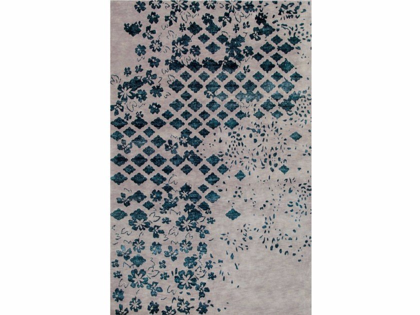 Wool rug MOSAIC by Sirecom Tappeti