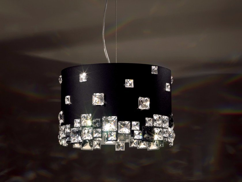Pendant lamp with Swarovski® Crystals MOSAIX | Pendant lamp by Swarovski