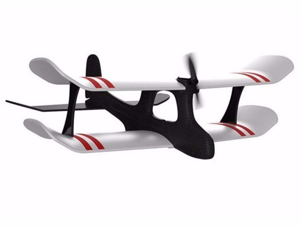 Smartphone controlled plane with joystick MOSKITO by TobyRich