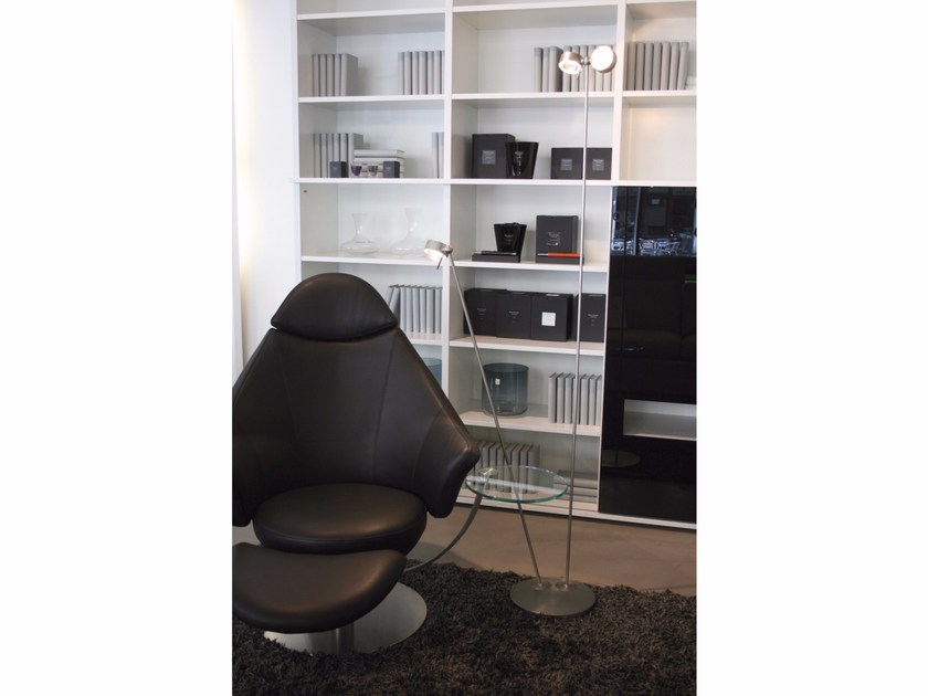 Top Light Floor Braccio Con Lampada Da Flessibile Puk In MotherKid Metallo Terra Orientabile VqSUzMp