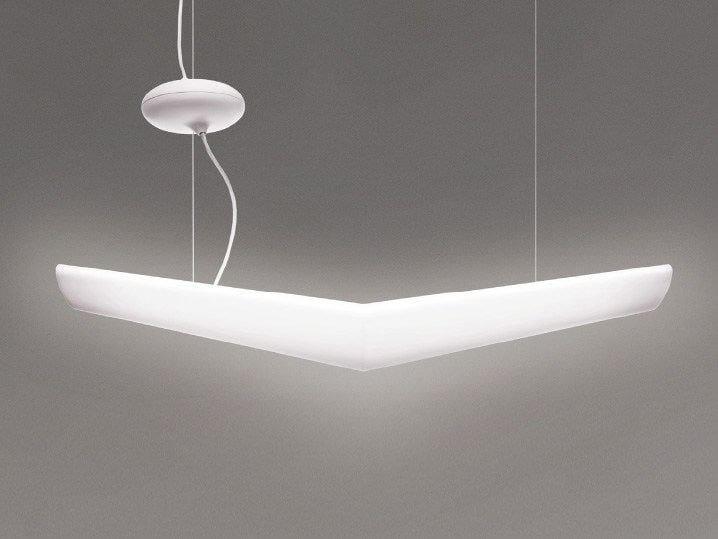 Direct light polypropylene pendant lamp MOUETTE MINI by Artemide