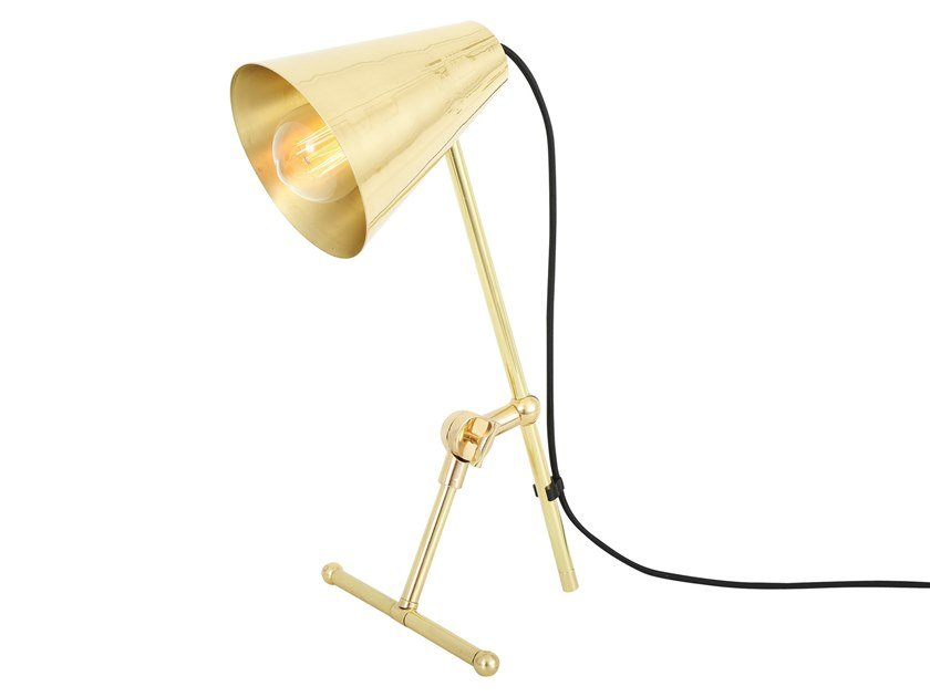 Brass table lamp moya table lamp by mullan lighting