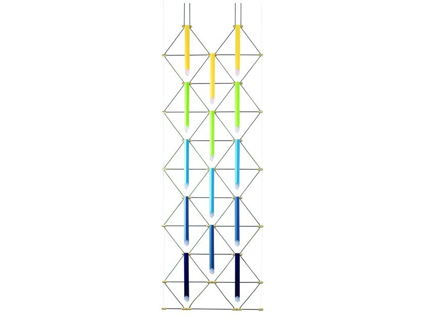LED pendant lamp MOZAIK 2x5 by designheure