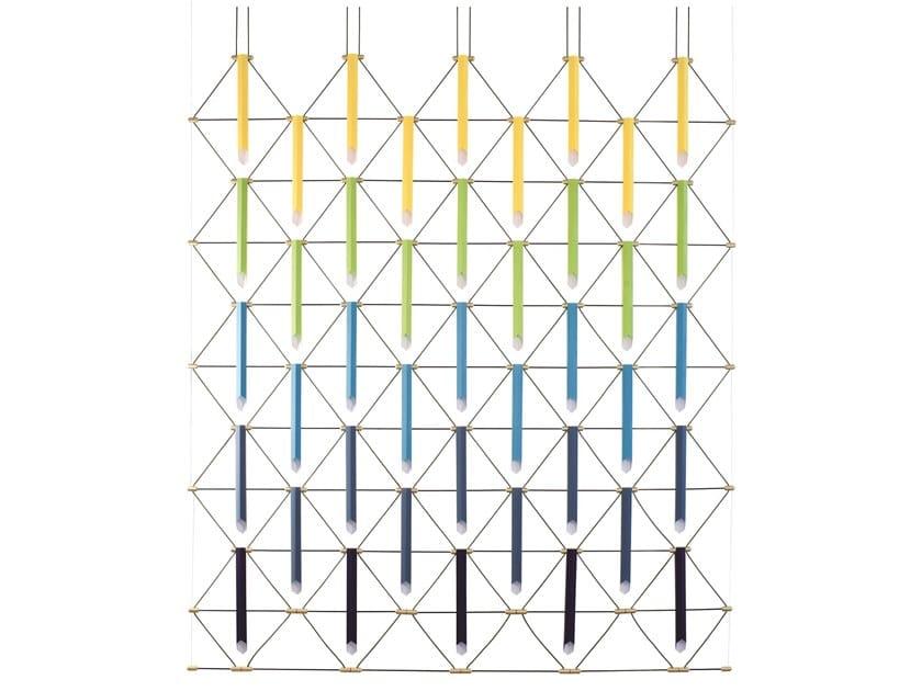 Pendant lamp / room divider MOZAIK 5x5 by designheure