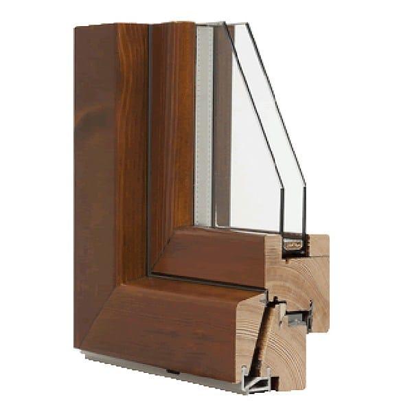 Wooden casement window MOZART by Italserramenti