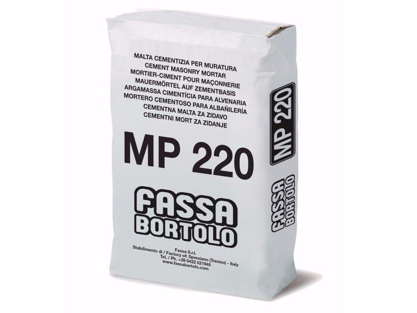 Mortar for masonry MP 220 by FASSA