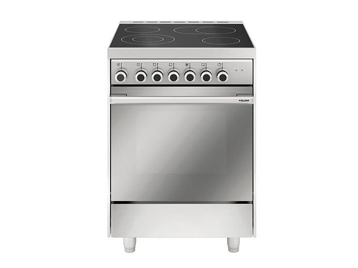 Steel cooker MQ6623VI   Cooker by Glem Gas