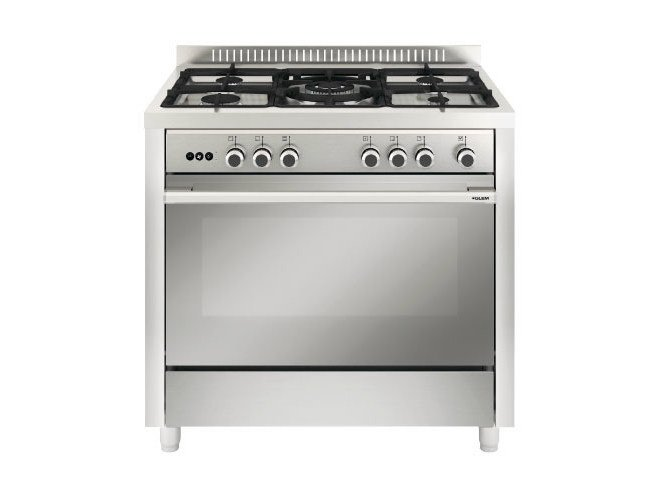 Steel cooker MQB612VI   Cooker by Glem Gas