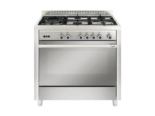 Steel cooker MQB644RI | Cooker by Glem Gas
