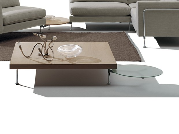 Rectangular wooden coffee table MR. HIDE | Coffee table by Felicerossi
