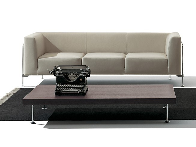 3 seater fabric sofa with removable cover MR. HIDE | Sofa by Felicerossi
