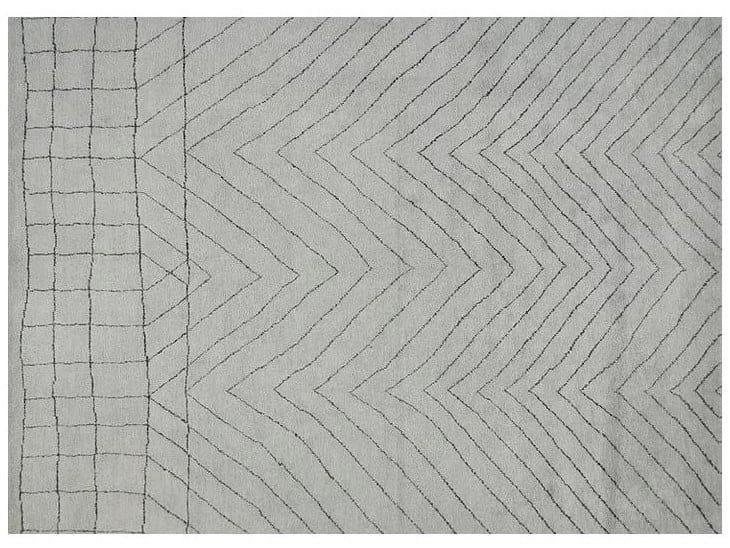 Handmade wool rug BERBER - LOW PILE - MR120 by Mohebban