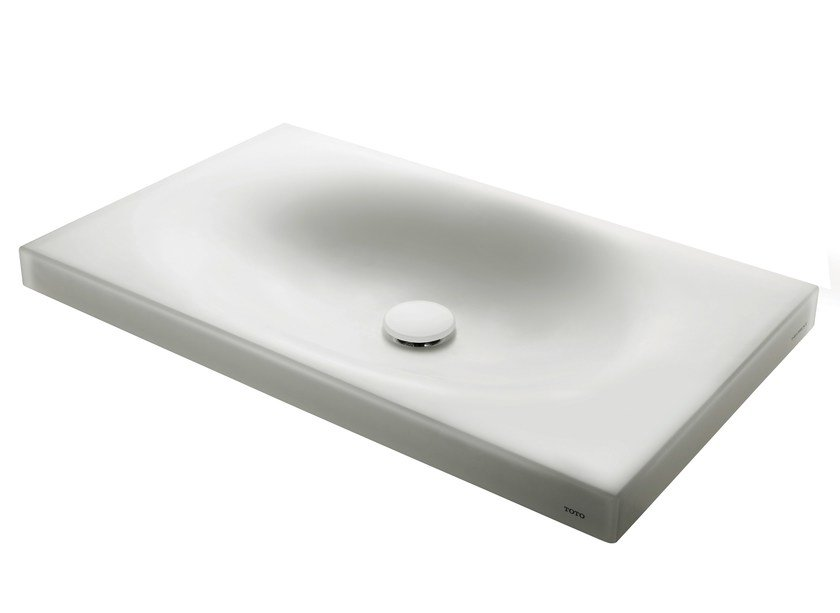 Rectangular resin washbasin MR720M | Resin washbasin by TOTO