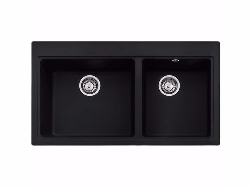 1 1/2 bowl built-in Fragranite® sink MTG 620 By FRANKE