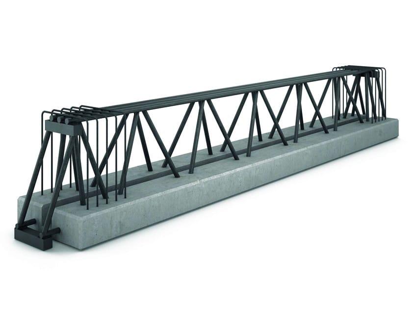 Trave in acciaio-calcestruzzo resistente al fuoco TRAVI MTR® C by METAL.RI