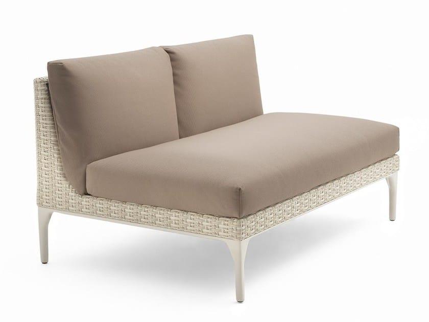 Modular 2 seater sofa MU | 2 seater sofa by Dedon