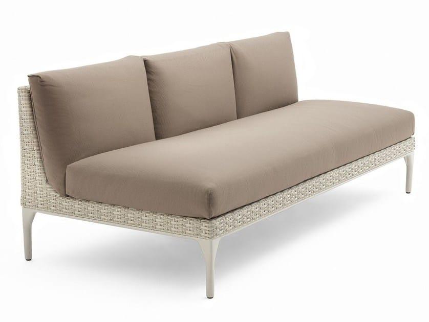 Modular 3 seater sofa MU | 3 seater sofa by Dedon