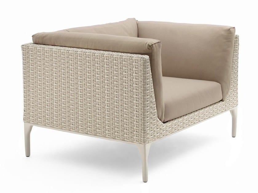 Club Batyline® garden armchair MU | Garden armchair by Dedon