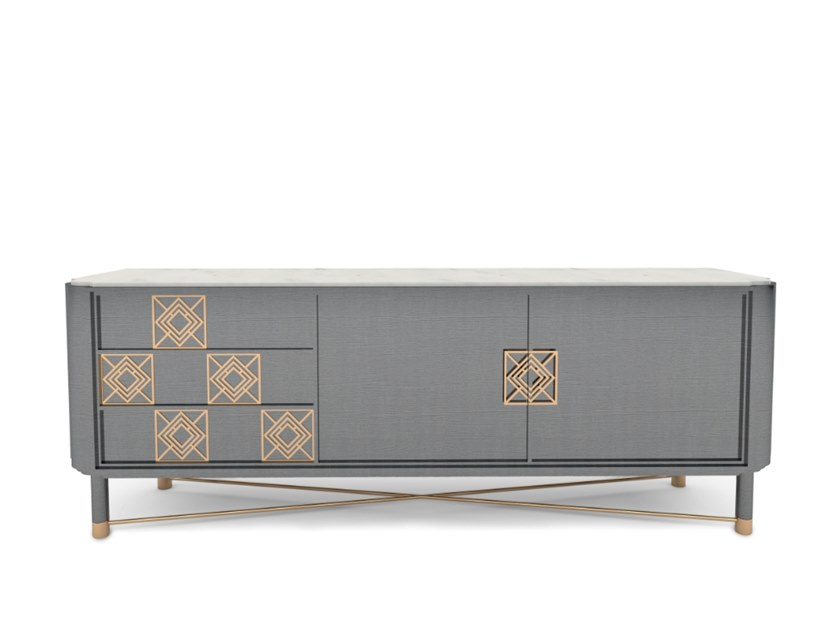Lacquered sideboard MULLIGAN | Sideboard by Duquesa & Malvada