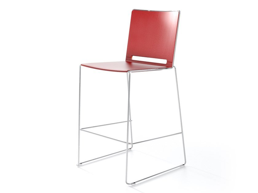 High stackable stool MULTI SG by IBEBI