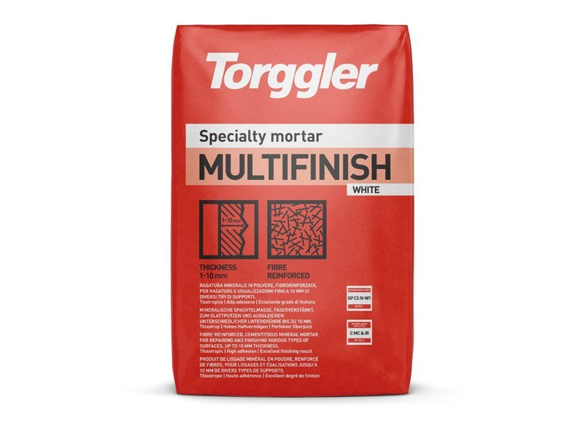 Smoothing compound MULTIFINISH by Torggler Chimica
