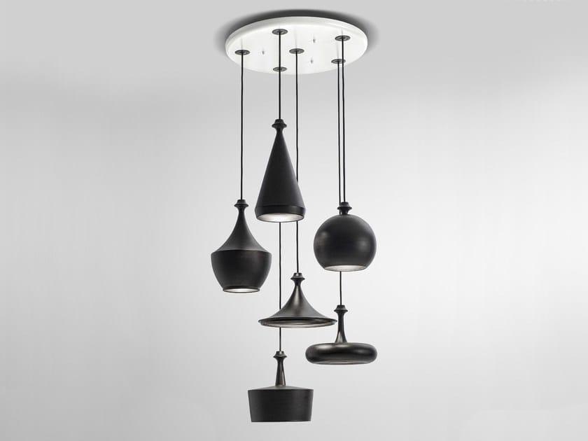 LED floor lamp MULTILUSTRI by Aldo Bernardi