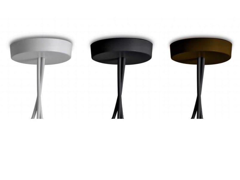 Aluminium lamp holder AIM MULTIPLE ROSE by FLOS