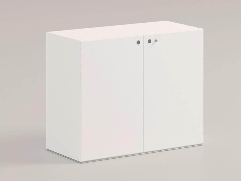 Mobile ufficio con serratura MULTIPLICEO | Mobile ufficio by FANTONI