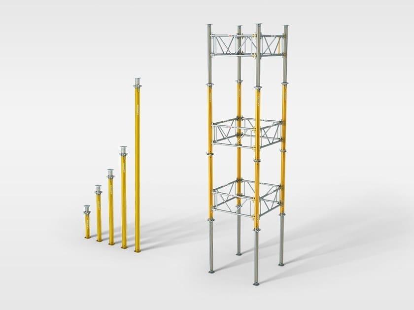 MULTIPROP PERI MULTIPROP - Impiagabili come impalcatura di sostegno a torre e come puntello singolo