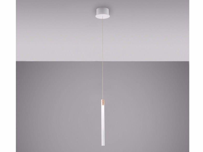 multispot tooby borosilicate glass pendant lamp by fabbian design