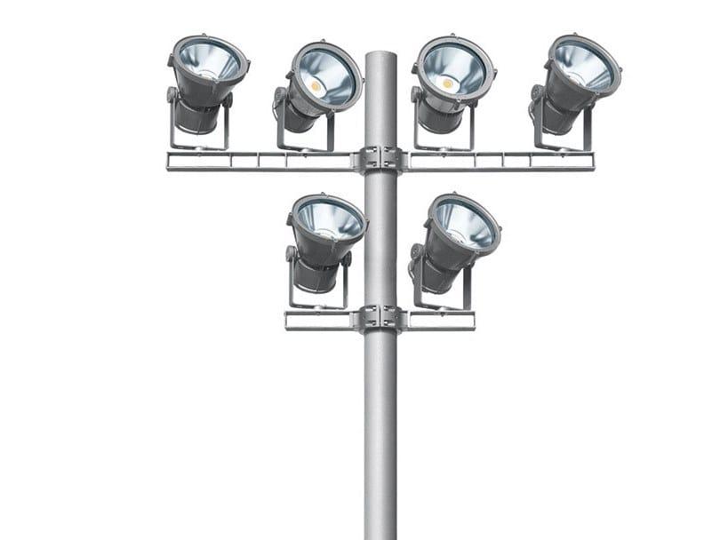 LED adjustable Outdoor floodlight MULTIWOODY by iGuzzini