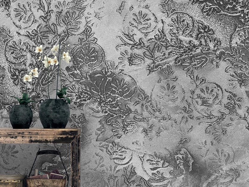 Industrial and modern wallpaper, PVC free, eco, washable MUMBAI by Wallpepper