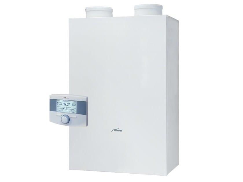 Sistema integrato caldaia a condensazione e pompa di calore MURELLE ...
