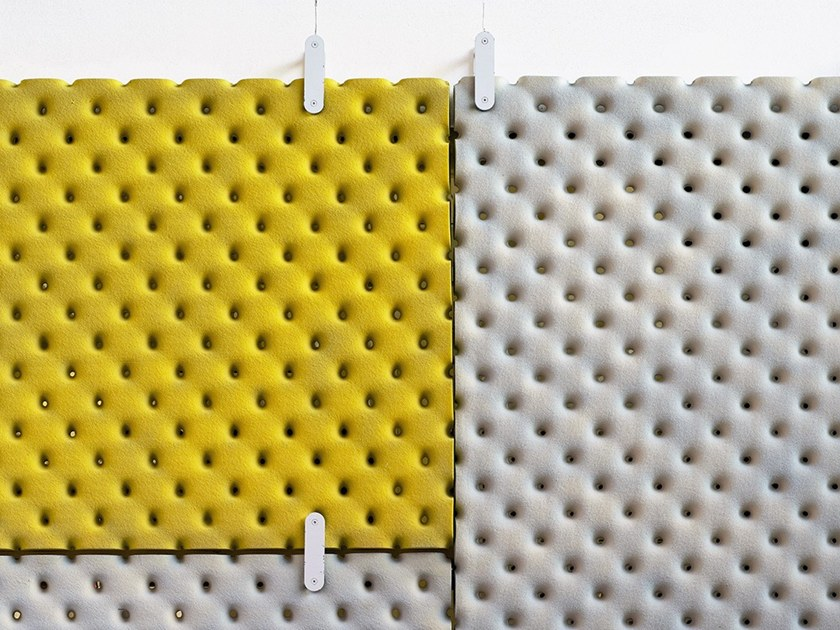 Hanging acoustical panel MURRAY by Felicerossi