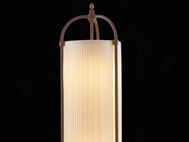 Indirect light fabric floor lamp MURUROA by Aldo Bernardi
