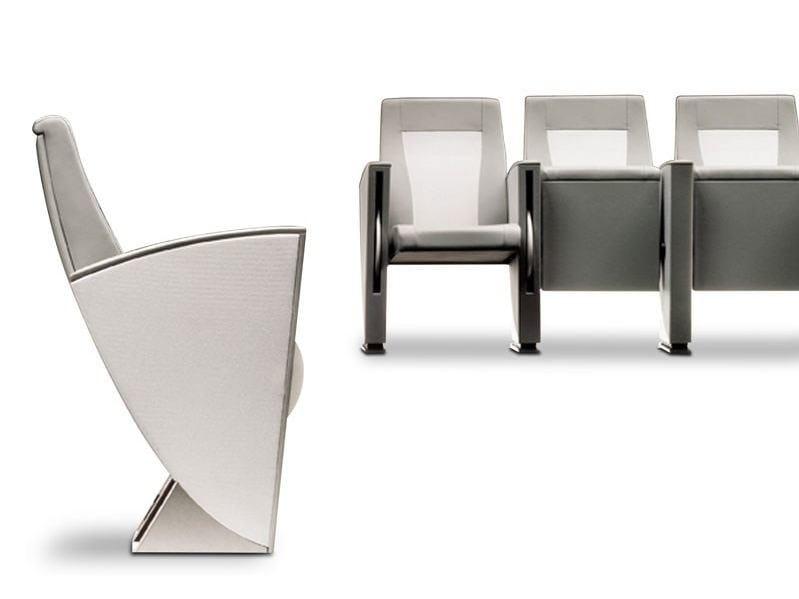 Technical fabric auditorium seats MUSA by ESTEL GROUP