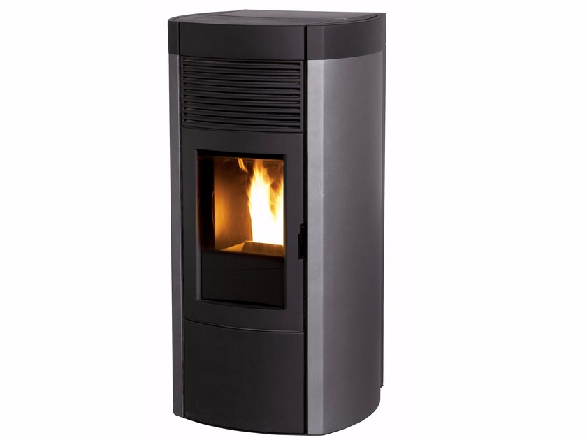 Pellet stove for air heating MUSA by MCZ GROUP