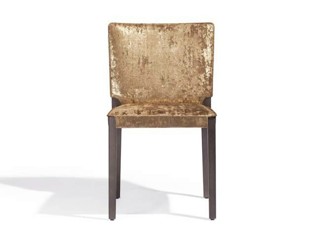 Upholstered fabric chair MUSA   Fabric chair by Potocco